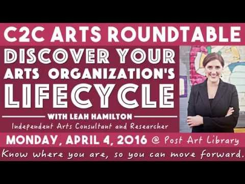 C2C Arts Roundtable: Discover Your Arts Organization's Lifecycle