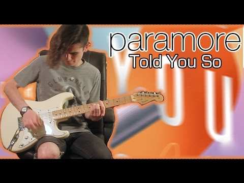 Paramore - Told You So (Guitar & Bass Cover w/ Tabs)