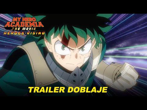 #MyHeroAcademia: Heroes Rising, Trailer con Doblaje. ¡Reestreno en México 03 de Diciembre!