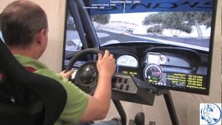 Network Racing with Big Monitors on BlueTiger Racing Simulators www.bluetiger.com