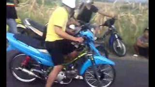 Drag bike: Satria Fu vs Vega (Salatiga)