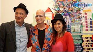 Vernissage David Kracov mit Heiner Lauterbach @ Galerie Mensing München am 23.02.2014