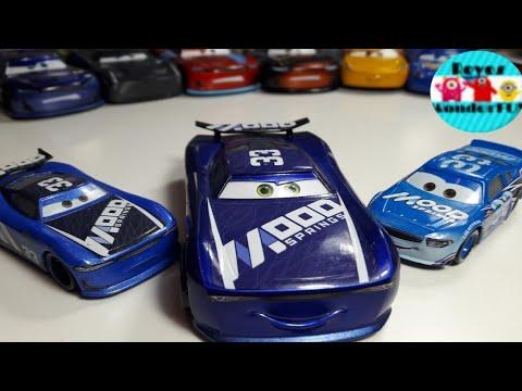 DISNEY PIXAR CARS 3 ED TRUNCAN 33 MOOD SPRINGS