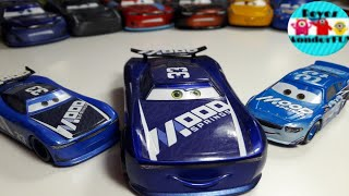 Cars 3 Mood Springs Ed Truncan #33 chaser series scale 1:43, Dud throttleman scale 1:55 review