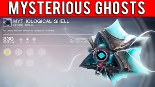 Destiny - Where Are These Unknown Ghost Shells?