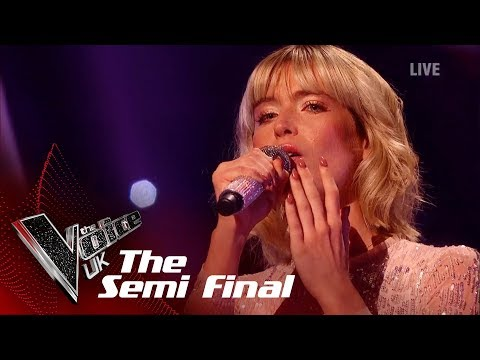 Molly Hocking's 'I'll Never Love Again'   The Semi Finals   The Voice UK 2019