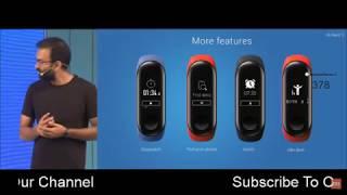 Xiaomi Mi band 3 Launch Event Live