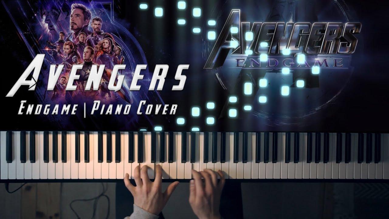 Avengers: ENDGAME (Avengers Main Theme) [Piano Cover]