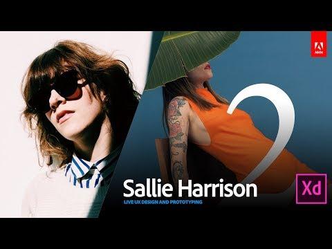 Live UI/UX Design with art director Sallie Harrison 2/3