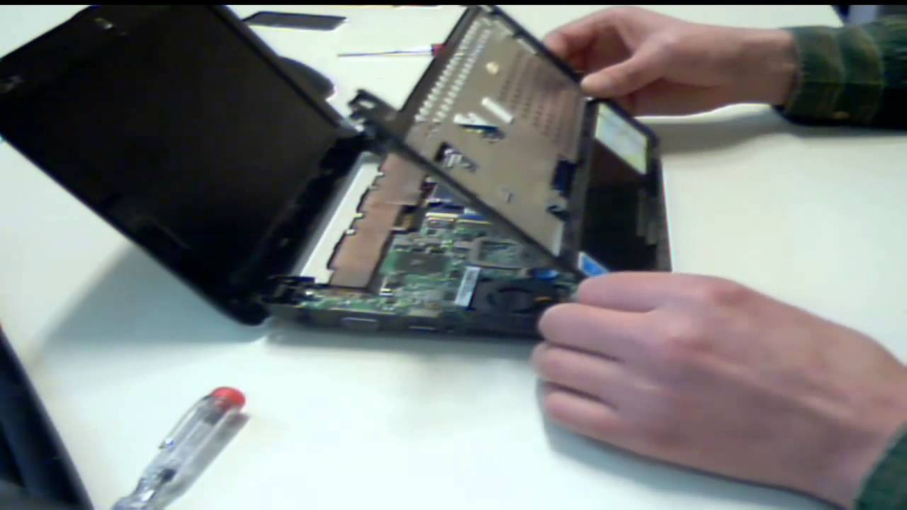 hard drive diagram wiring kenwood deck asus eeepc - how to replace hdd, ram and keyboard. youtube