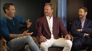 BEVERLY HILLS 90210 Cast Talk Luke Perry, New Re-Boot, 90