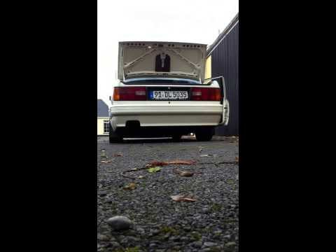 BMW e30 318is m42 straight through no muffler / exhaust box
