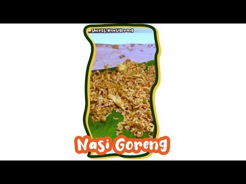 ASMR Nasi Goreng   Fried Rice   Eating Sound   ASMR Indonesia #shorts