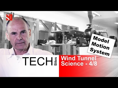 Model Motion System - F1 Wind Tunnel Explained 4/8 - Sauber F1 Team