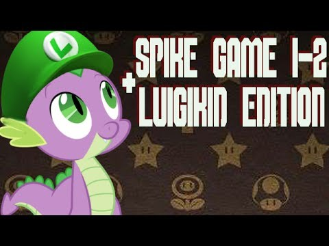 SPIKE GAME 1, 2 & LUIGIKID EDITION - SCARED BY MY OWN PICTURE!