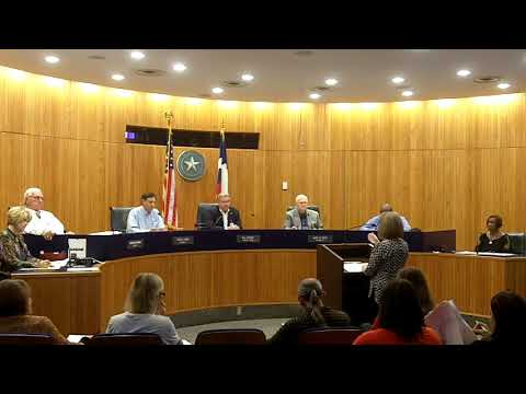 Gregg County Commissioner's Court 10-30-18