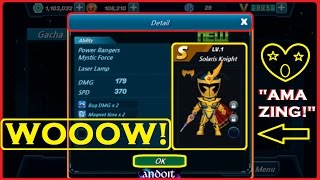 5X Gacha Chain Purchase S Grade - Power Rangers Dash
