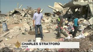 Gaza struggles to rebuild as blockade remains
