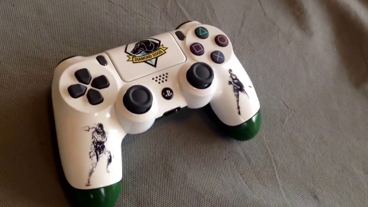 Metal gear solid PS4 controller