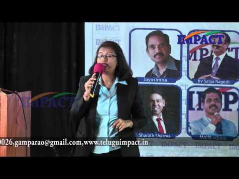 Simple Steps to Success by Sruti Mashru at IMPACT Hyderabad 2016