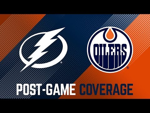 ARCHIVE | Post-Game Coverage – Oilers vs. Lightning