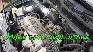 Make your own K11 Nissan Micra intake for £40