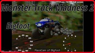Monster Truck Madness 2 (1998) ✓ Gameplay #2 ✓ Bigfoot