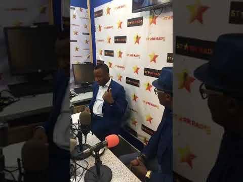 Mr Omoyele Sowore was at Starr radio station in Croydon London, UK