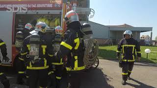 Baptême de la promotion 2018 de sapeurs-pompiers professionnels, les spartiates