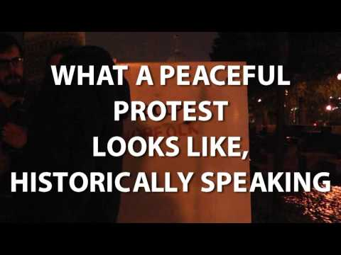 Video Evidence of Peaceful Protests