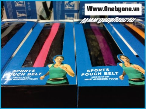 Bao đeo bụng tiện dụng thể thao  – Sports Pouch Belt – ONEBYONE X036 – Www.Onebyone.vn