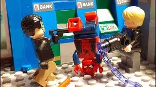 Lego Marvel: Spider-Man Bank Robbery (Superhero Stop Motion)