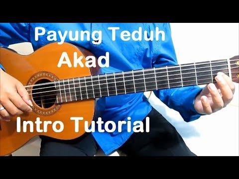 Belajar Gitar Akad Payung Teduh (Intro) - Belajar Gitar Fingerstyle Untuk Pemula Mudah & Simpel