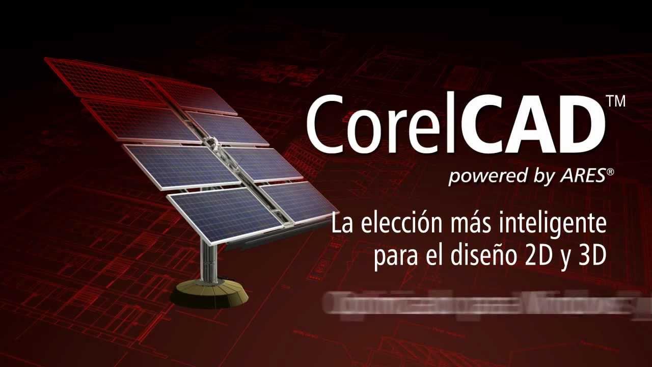 corelcad espa ol youtube rh youtube com CorelCAD Tutorials CorelCAD Logo