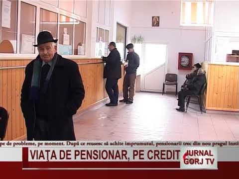 viata de pensionar, pe credit