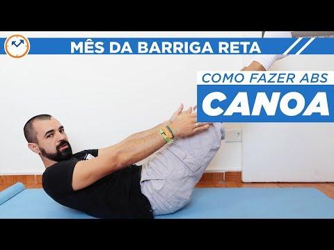 🚣COMO FAZER ABDOMINAL CANOA 💪 | #MêsDaBarrigaReta | Saúde na Rotina