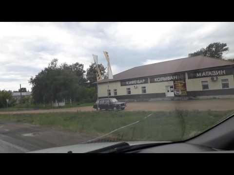 Дорога через с. Саввушка из с. Курьи в г. Змеиногорск 20170609 144802