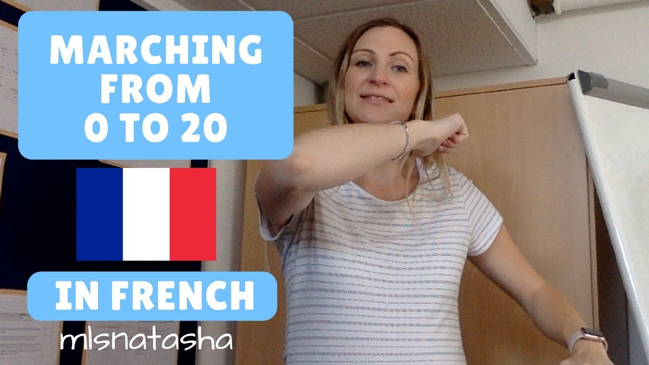 marching in french counting