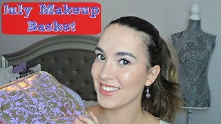 Monthly Makeup Basket | Shop My Stash | July