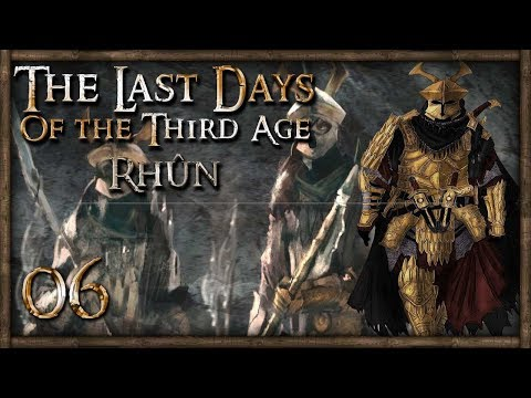 [6] GOLDEN ARMY MARCHES TO GONDOR! - M&B: Warband (The Last Days - Rhun)