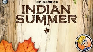 Indian Summer — game preview at SPIEL '17