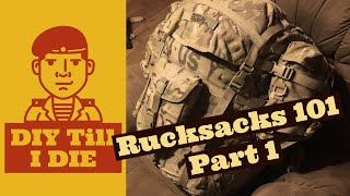 Rucksacks 101 Part 1: Disassembly & Cleaning