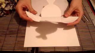 Бонбоньерка в форме невесты своими руками