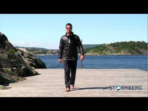 Stormberg catwalk - Ryvingen vattert genser og Havglimt stretchbukse herre