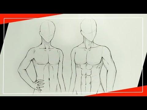 สอนวาดการ์ตูน-[การวาดตัวผู้ชายง่ายๆ]
