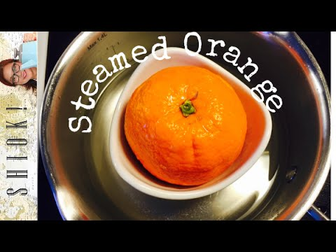 Steam Orange Home Remedy for Cough