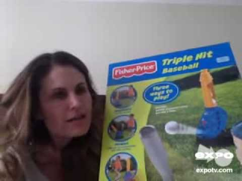 Fisher-Price Triple Hit Baseball Review