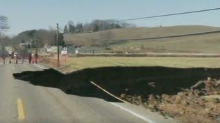 Most devastating sinkholes in history
