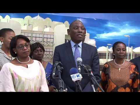 Audience de Mabingué Ngom à la présidence du Burkina Faso