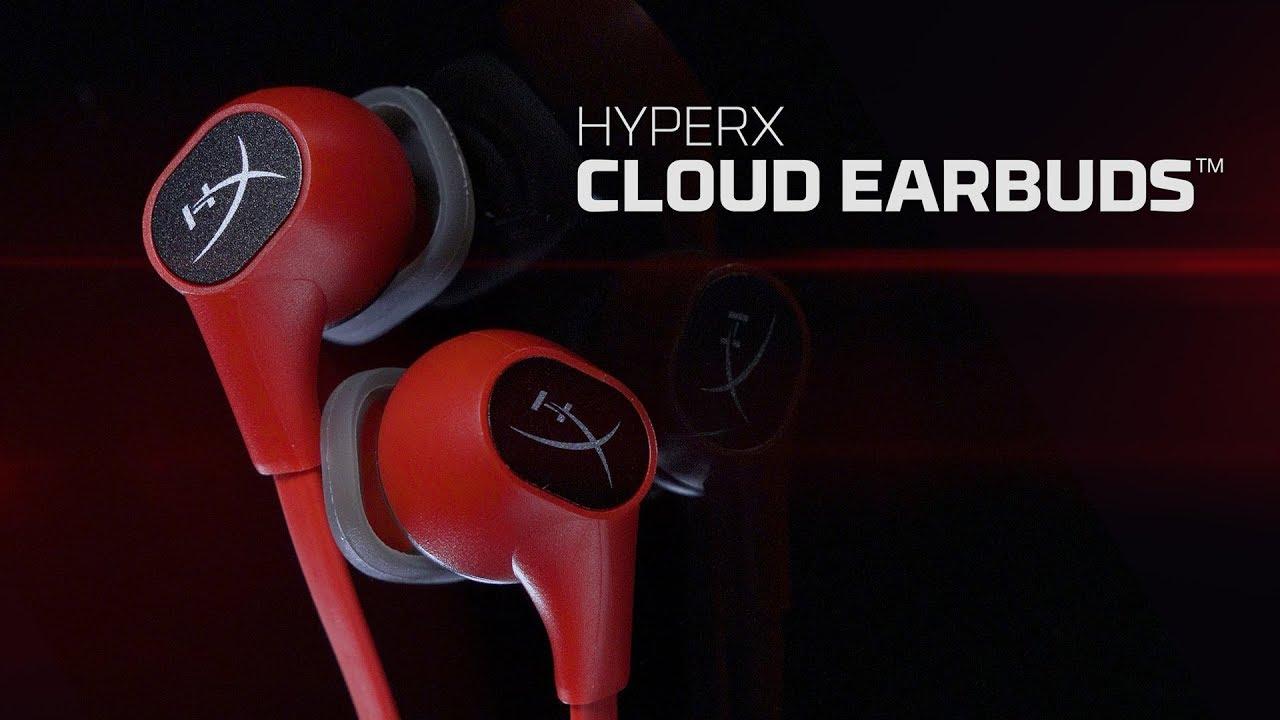 HyperX Cloud Earbuds Gaming Øreplugger Gaming headset